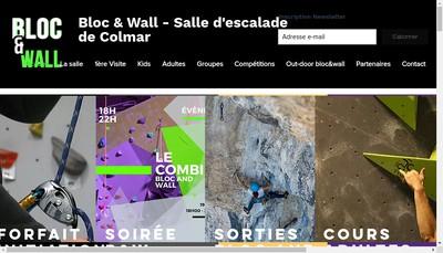 Site internet de Salle d'Escalade Colmar