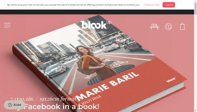 Site internet de Blook Up