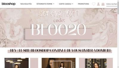 Site internet de blooshop