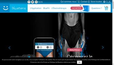 Site internet de Bluetens France