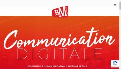 Site internet de Bm Services