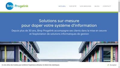 Site internet de Bmp Progelink