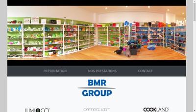 Site internet de Bmr Group