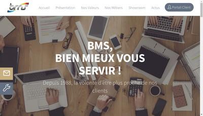 Site internet de Bms