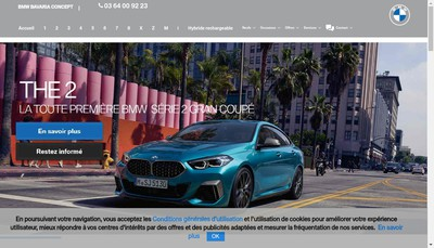Site internet de Bayern Seclin By Autosphere
