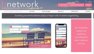Site internet de B-Network
