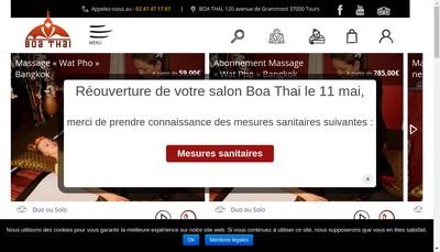 Site internet de Ban Thai
