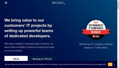 Site internet de Bocasay
