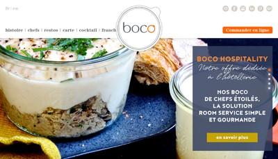Site internet de Boco