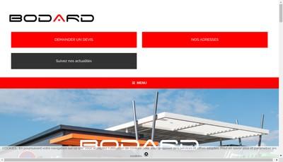 Site internet de Bodard Constructions