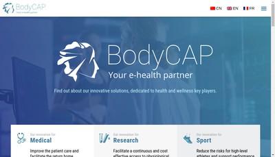 Site internet de Bodycap