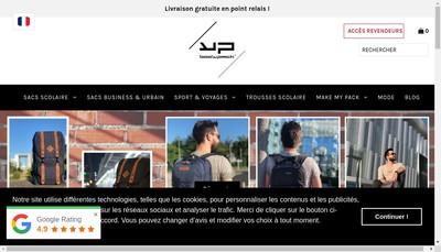 Site internet de Maroquinerie des Monts de Lyonnais