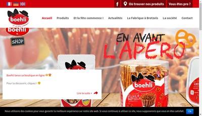 Site internet de Boehli