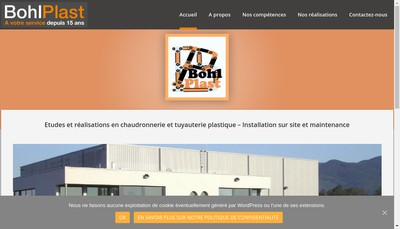 Site internet de Bohl Plast