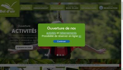 Site internet de Le Chalet de la Moselotte