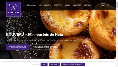 Site internet de Boncolac