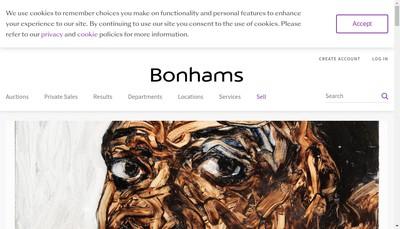 Site internet de Bohams France