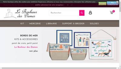 Site internet de Le Bonheur des Dames
