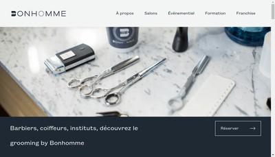 Site internet de Bonhomme Nantes