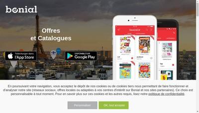 Site internet de Bonial
