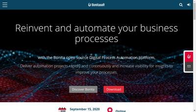 Site internet de Bonitasoft