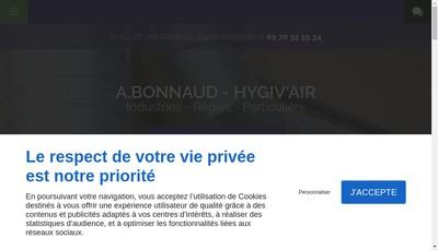 Site internet de Entreprise a Bonnaud