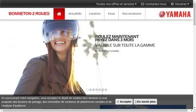 Site internet de Bonneton 2 Roues