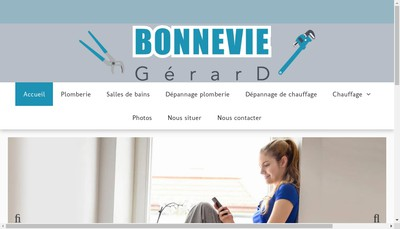 Site internet de Bonnevie Gerard