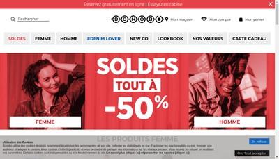 Site internet de Libourne Vetements