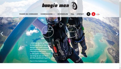 Site internet de Boogie Man