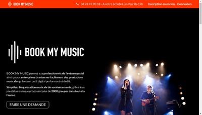 Site internet de Concert Home