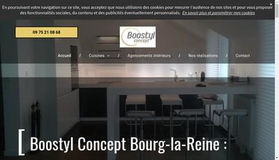 Site internet de Boostyl Concept