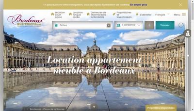 Site internet de Bordeaux Autrement