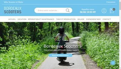 Site internet de Holiday Bikes
