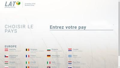Site internet de Borealis LAT France
