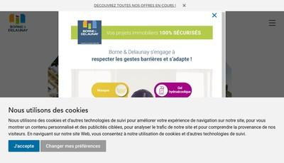 Site internet de Borne & Delaunay
