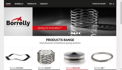 Site internet de Spring Washers