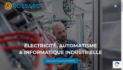 Site internet de Bossard
