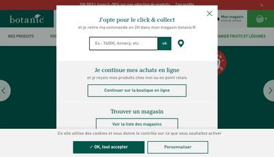 Site internet de Les Jardins de Benouville