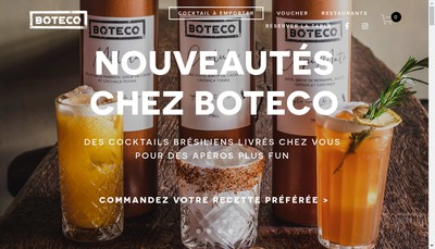 Site internet de Boteco Vm