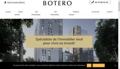 Site internet de Botero