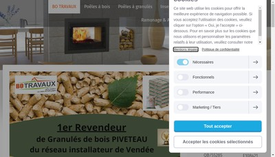 Site internet de Bo Travaux