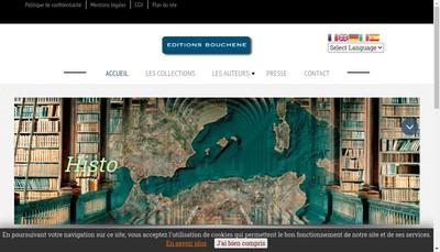 Site internet de Editions Bouchene