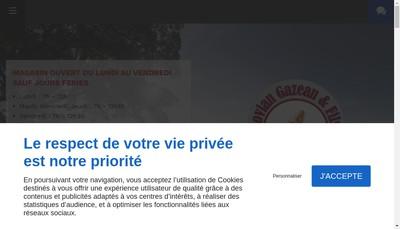 Site internet de Boucherie Sovian-Gazeau et Fils