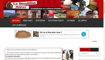 Site internet de Au Bouddha Rieur