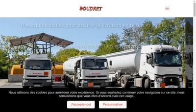 Site internet de SAS Boudret