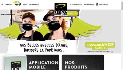 Site internet de Ange