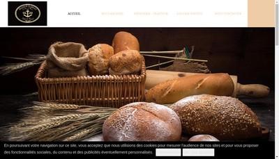 Site internet de Boulangerie Sorel