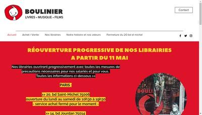 Site internet de SAS Paul Boulinier du Quartier Latin