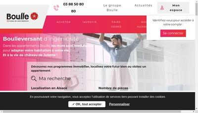Site internet de Boulle